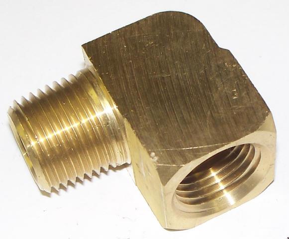 Street elbow brass c